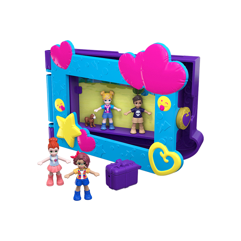 Polly pocket and friends